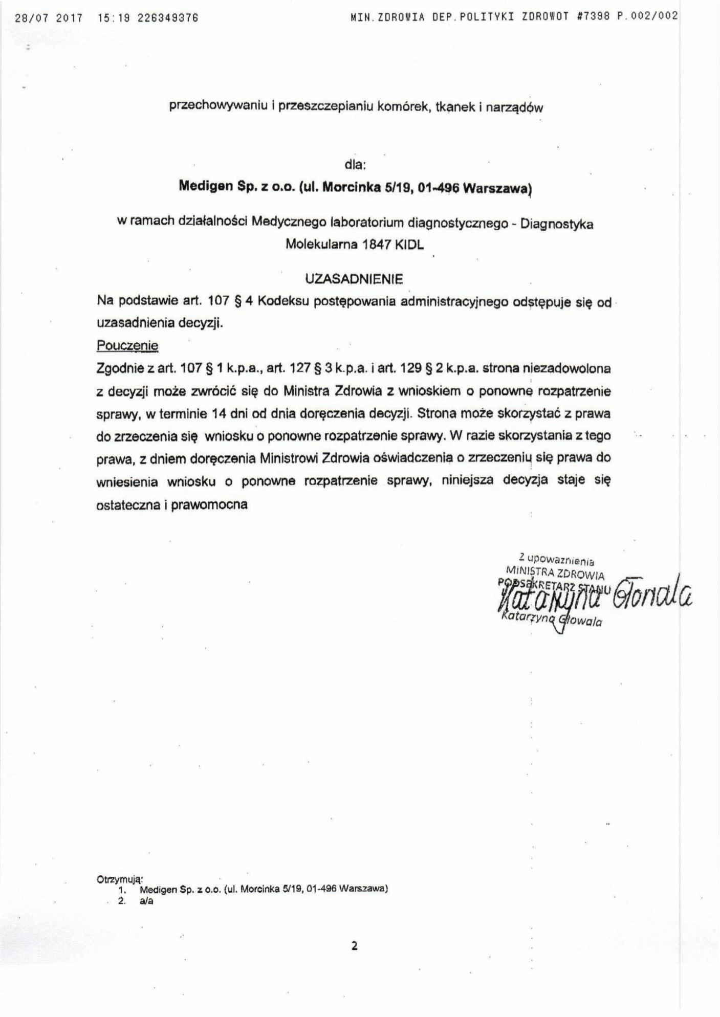 Pozwolenie MZ na MLD PZT.4061.22.2017.NK2-min